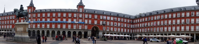 buildings in plaza mayor
