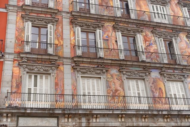 cool, weird building facade