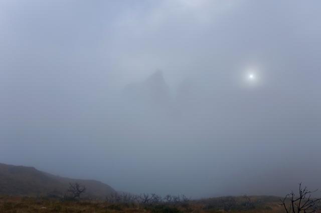 creepy mountain making itself known