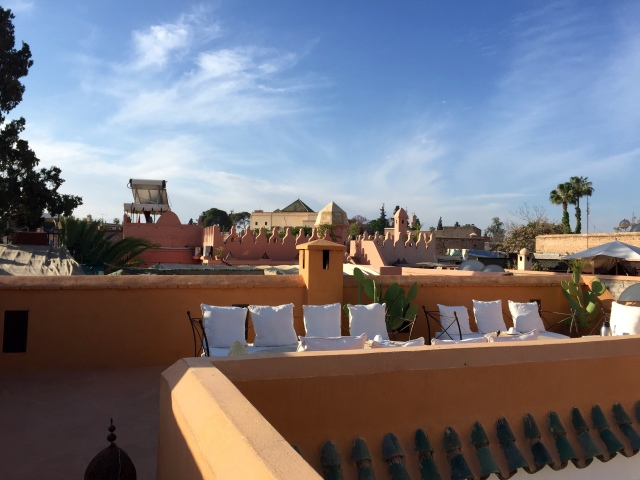 rooftop of riad