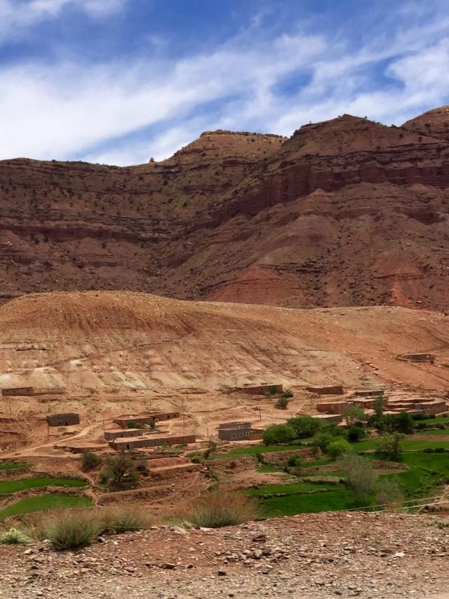 dades gorge valley