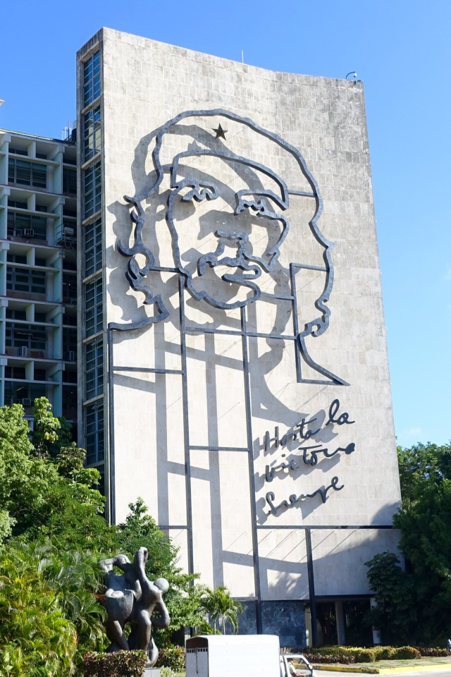 Che - Revolution Square (reads: Until the Everlasting Victory, Always)