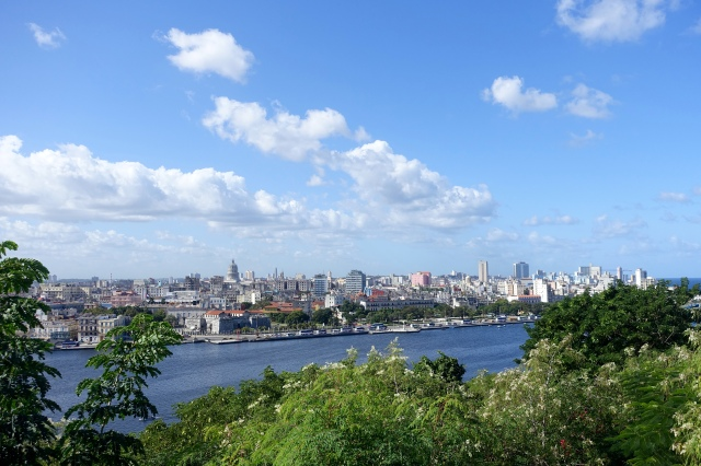 view of Havana from big jesus (christ of havana)