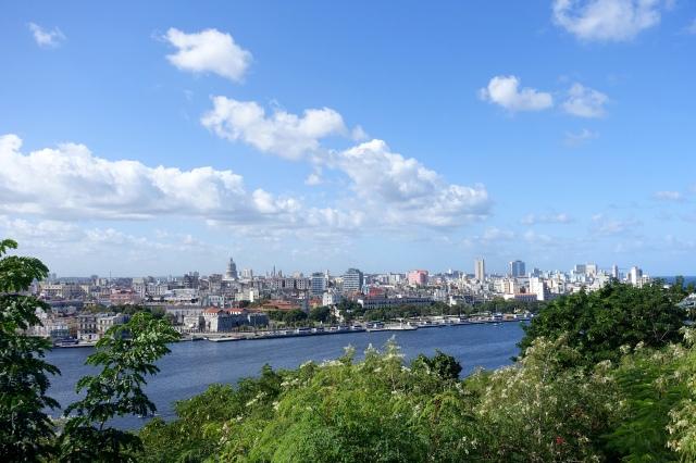 view of Havana from big jesus (christ of havana)