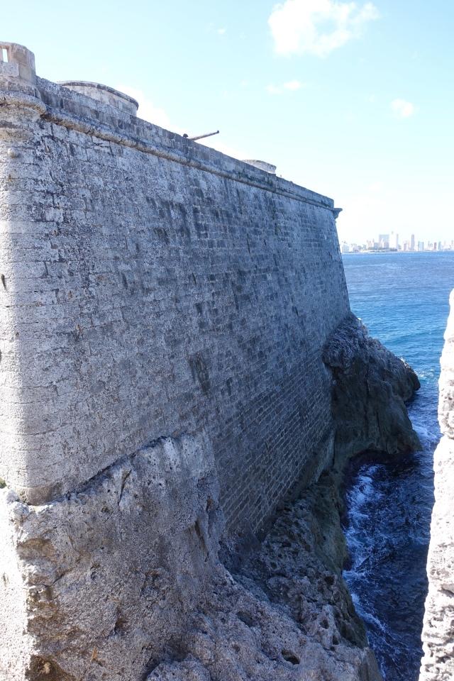 Morro Castle wall