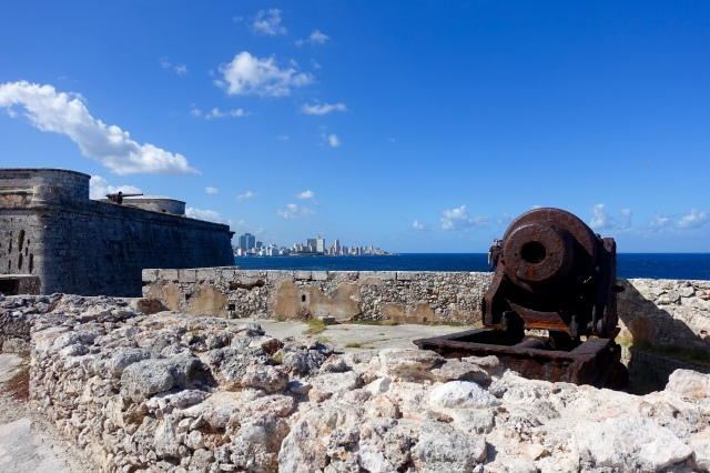 Morro Castle cannon